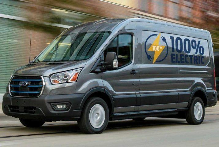 В РФ станут производить электровариации Ford Transit