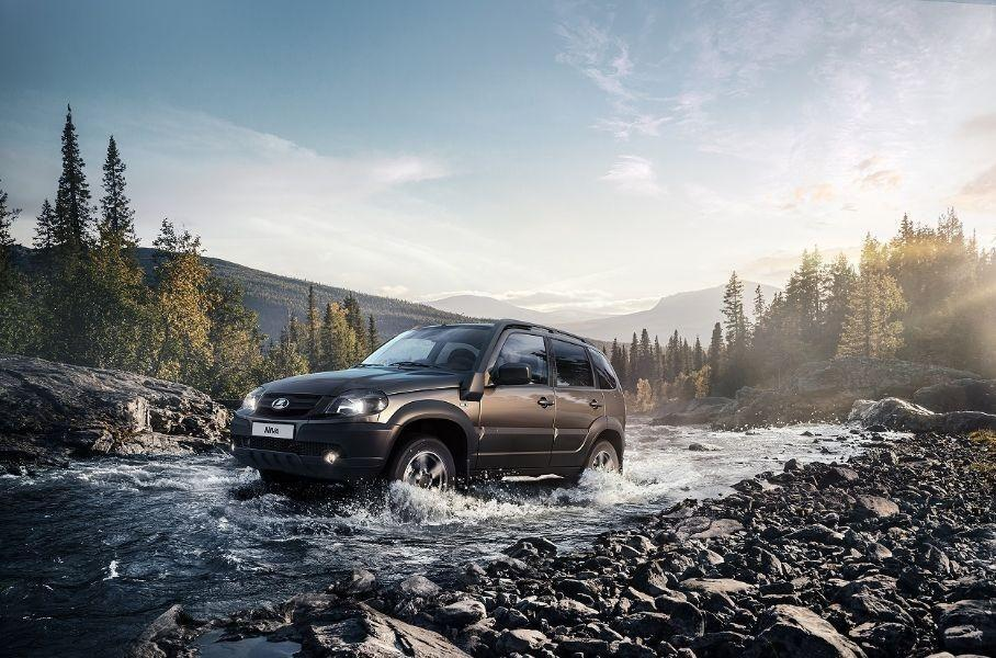 В РФ реализуют остатки Lada Niva с прежним дизайном