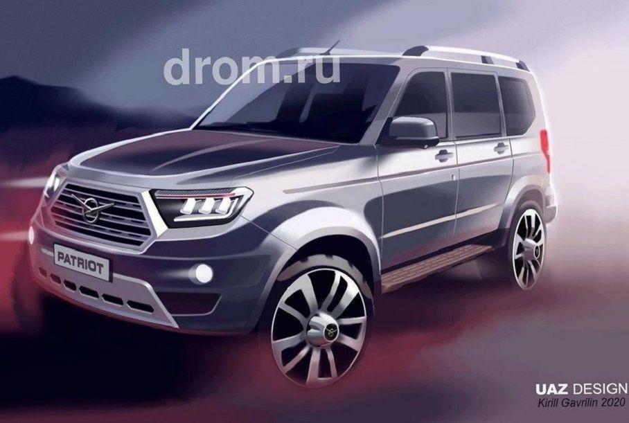 УАЗ совершил приостановку создания «русского Prado», однако проект не закрыли