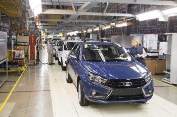 Производство Lada Vesta на заводе «Лада Ижевск» ушло в «минус»