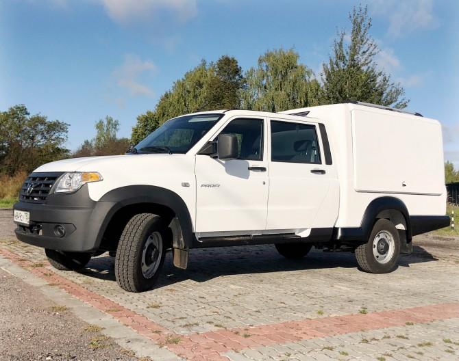 В линейке УАЗ появился многофункциональный фургон