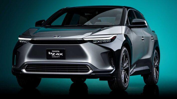 Концепт электрического кроссовера bZ4X 2022 года представила компания Toyota