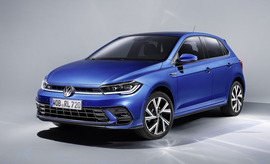 Компания Volkswagen рассекретила рестайлинговый Polo
