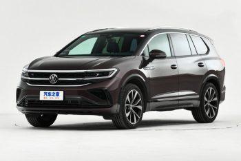 Рекорды по размерам побил новый кроссовер от компании Volkswagen