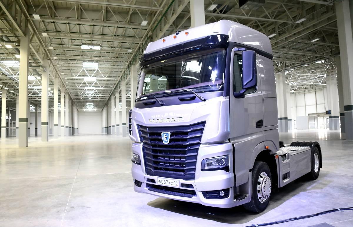 КАМАЗ объявил о росте производства грузовиков К5