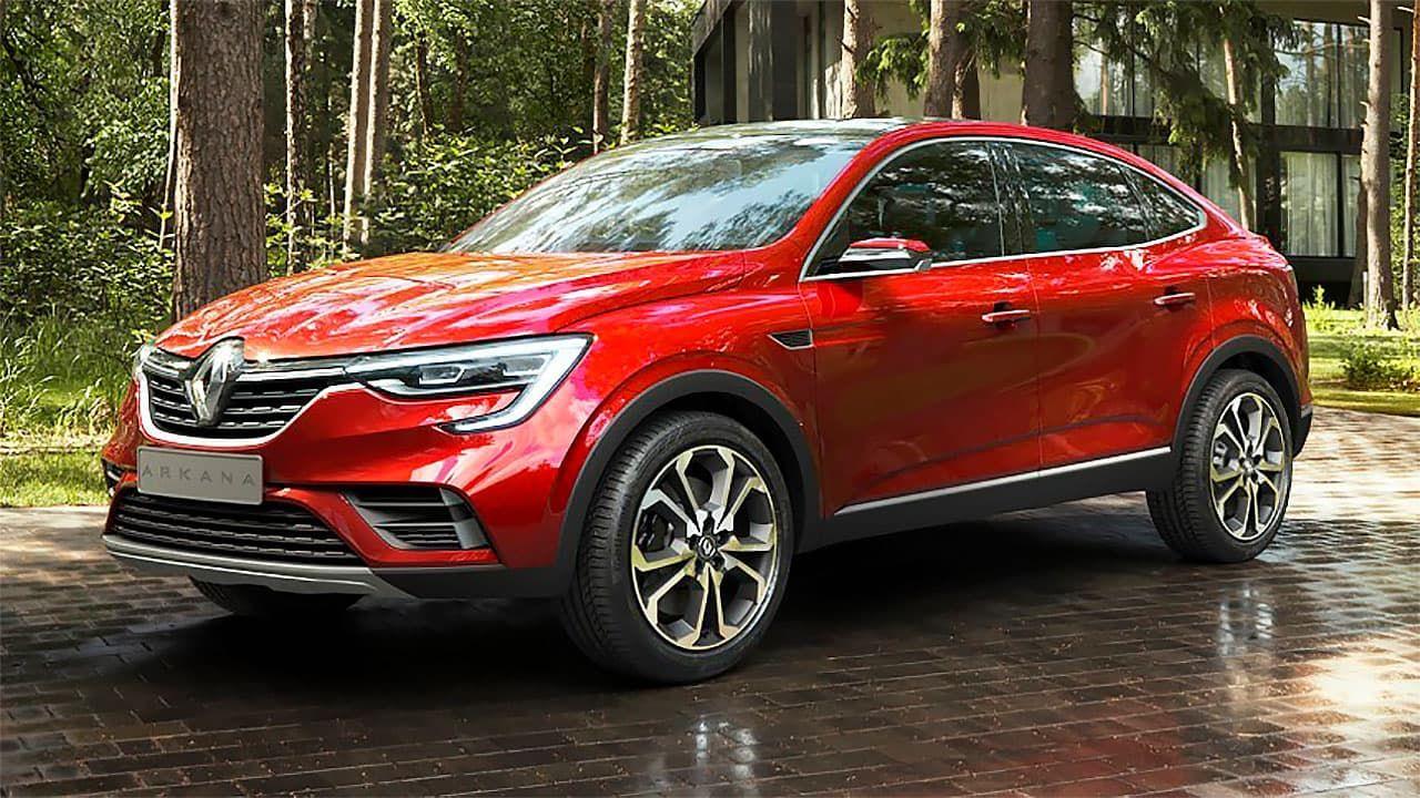 Новая топовая версия появилась у кроссовера Renault Arkana на рынке РФ