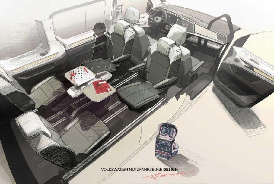 Подробности о новом Volkswagen Transporter раскрыл немецкий концерн