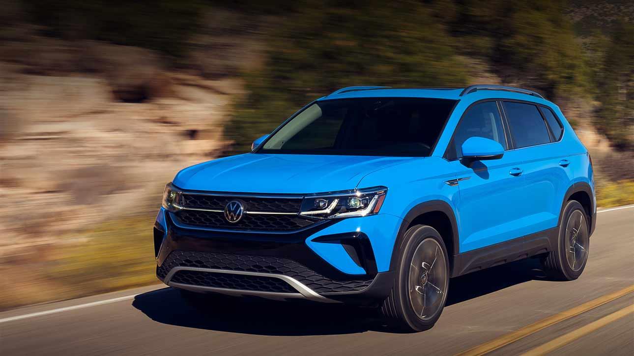 Новый недорогой кроссовер Volkswagen Taos оценили в 1 600 000 рублей