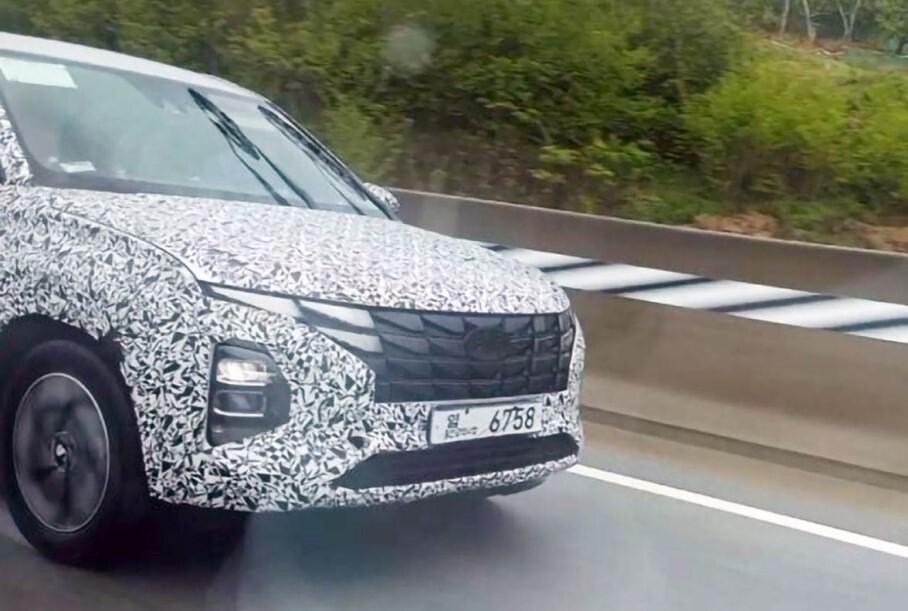 Новая Hyundai Creta замечена во время дорожных тестов