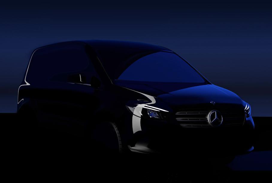 Компания Mercedes-Benz объявила дату выхода нового компактвэна Citan