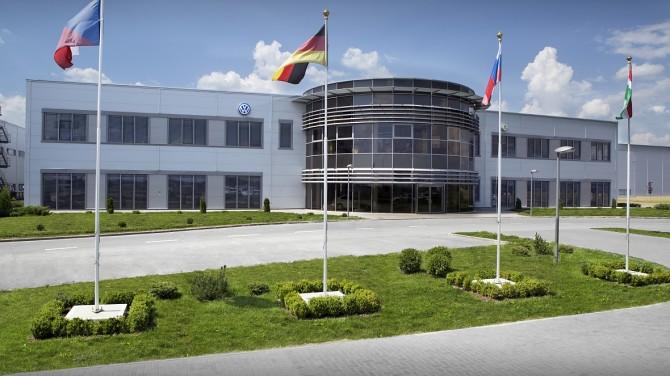 На летние каникулы уходит Калужский автомобильный завод Volkswagen
