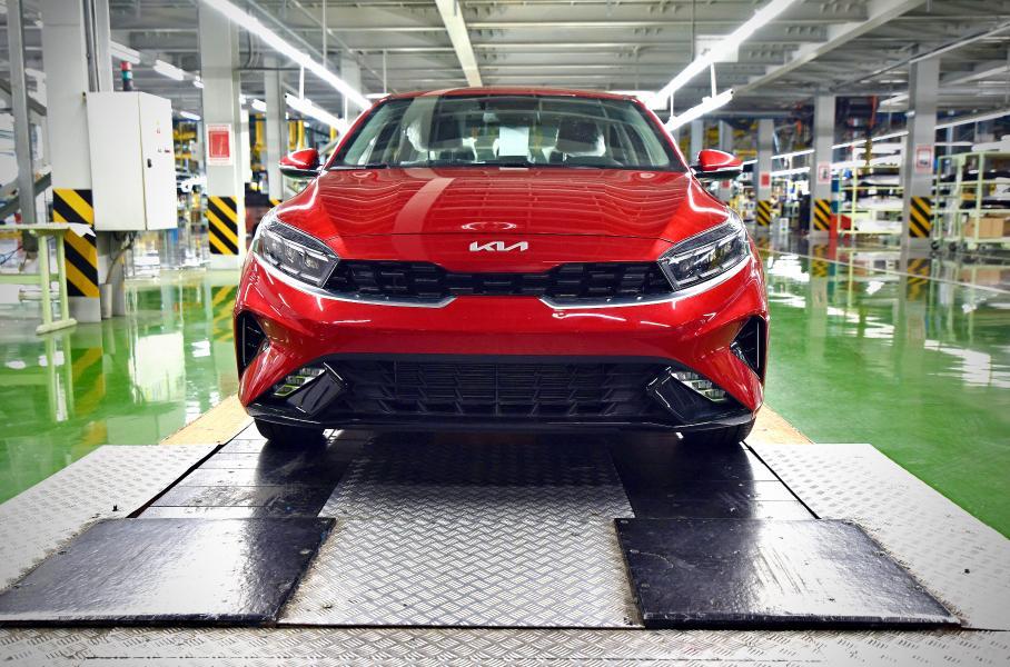 Первый экземпляр новой Kia Cerato сошел с конвейера завода