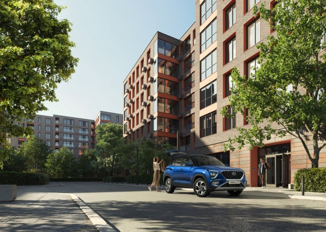 Hyundai Creta нового поколения вызвала ажиотажный спрос на рынке России
