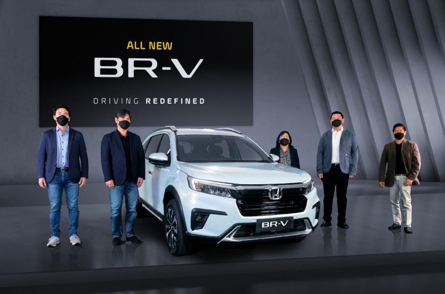 Дебютировал кроссовер нового поколения Honda BR-V