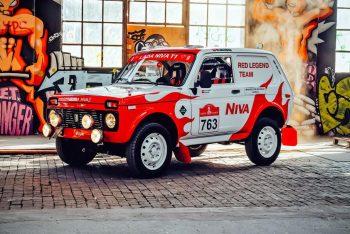 В сети показал Lada Niva, для участия в ралли «Дакар»